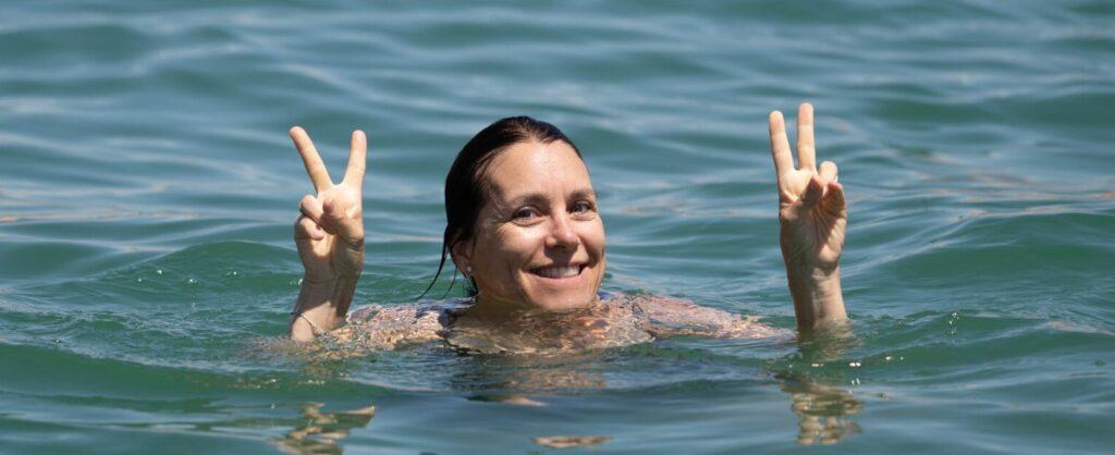 Women benefits from Swimming